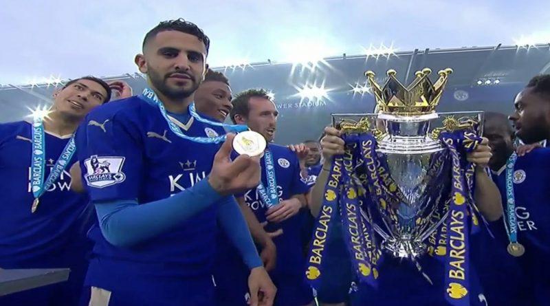 Riyad Mahrez Leicester