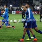 Les buts de Slimani et de Mahrez contre Huddersfield