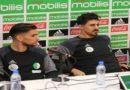 Medjani : «Je suis revenu pour aider» , Boundjah «La concurrence existe en club, pas en sélection nationale» ( vidéos)