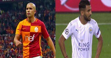 Vidéo des buts de Feghouli et de Mahrez respectivement contre Akhisar et Newcastle