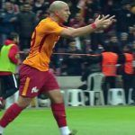 Le but de Feghouli contre Antalyaspor