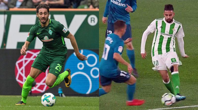 Le 2 buts de Belfodil face à Augsbourg et le but de Boudebouz face à L'espagnol ( vidéo)