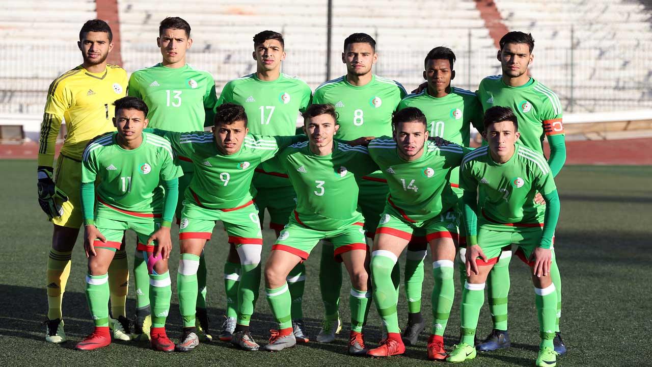 alg rie 3 tunisie 1 eliminatoires de la can 2019 u20 alg rie football. Black Bedroom Furniture Sets. Home Design Ideas