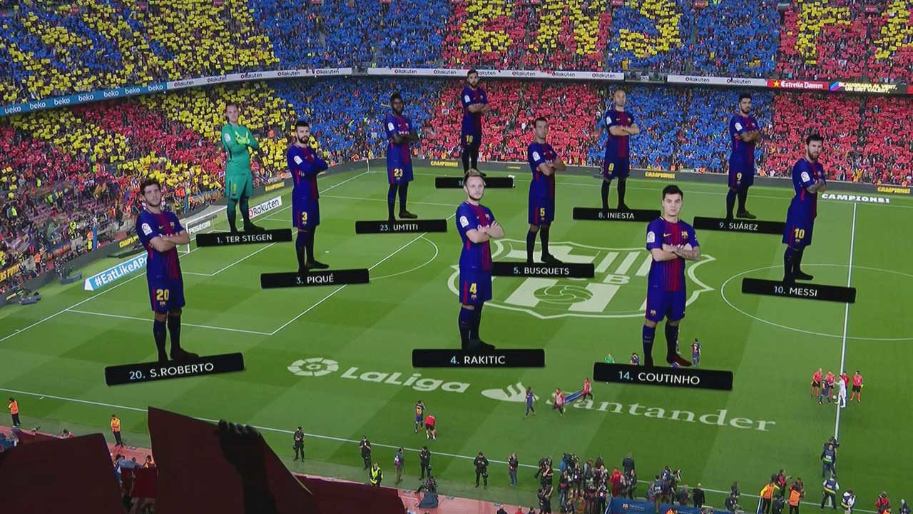 Liga : FC Barcelone 4 – FC Seville 0