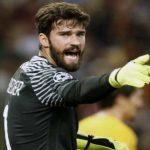 Premier League : Liverpool engage le Brésilien Alisson (AS Roma)  pour 72,5 M€