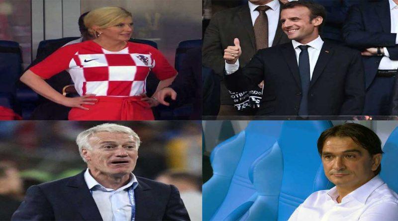 Mondial-2018: France – Croatie , le sacre ou les larmes