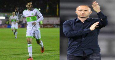 Equipe d'Algérie : Taïder se réjouit de l'arrivée de Djamel Belmadi