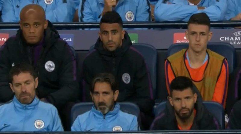 Ligue des champions : Manchester City 1 – Lyon 2, les camarades de Mahrez doutent, vidéo
