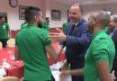 Equipe d'Algérie : Le ministre Hattab rend visite aux verts