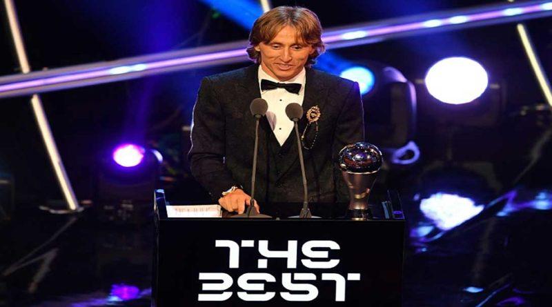 Trophées Fifa: Modric met fin au règne de Messi ET CR7