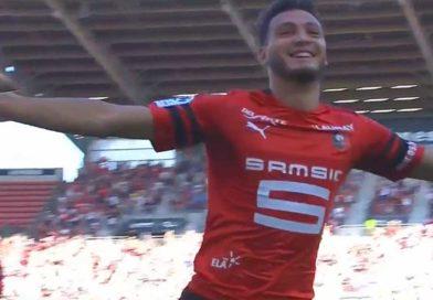 Vidéo du premier but de Rami Bensebaïni avec Rennes