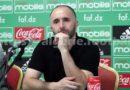 Djamel Belmadi s'exprime au micro de FAF-TV, sur le match des A' face au Qatar