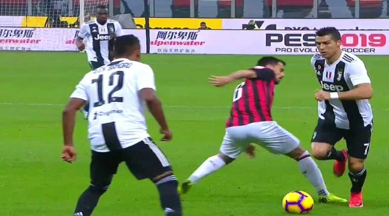 Calcio : Milan AC 0 – Juventus 2 , La Juvé garde son avance de 6 points,  vidéo