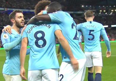 Manchester City remporte le derby Mancunien 3/1, dans un match à sens unique, vidéo
