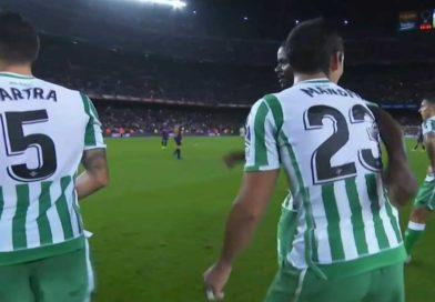 Liga : FC Barcelone 3 – Betis de Seville 4, un bon match de Aissa Mandi, vidéo