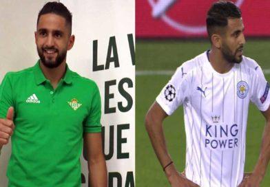 Les verts : Le but de Bentaleb , et ce qu'ont fait Boudebouz , Atal et Mahrez face à leurs adversaires