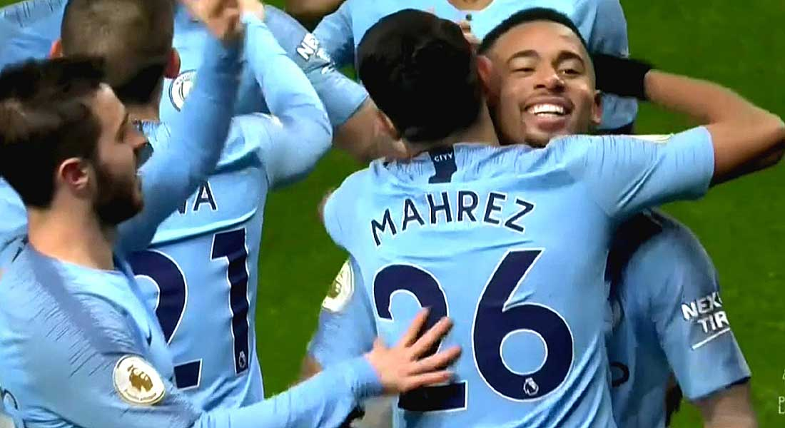 PL : Manchester City 2 – West ham United 1