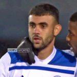 Le but de Ghezzal face à Newport County , en FA cup