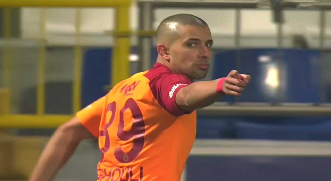 Le but de Feghouli face à Ankaragücü