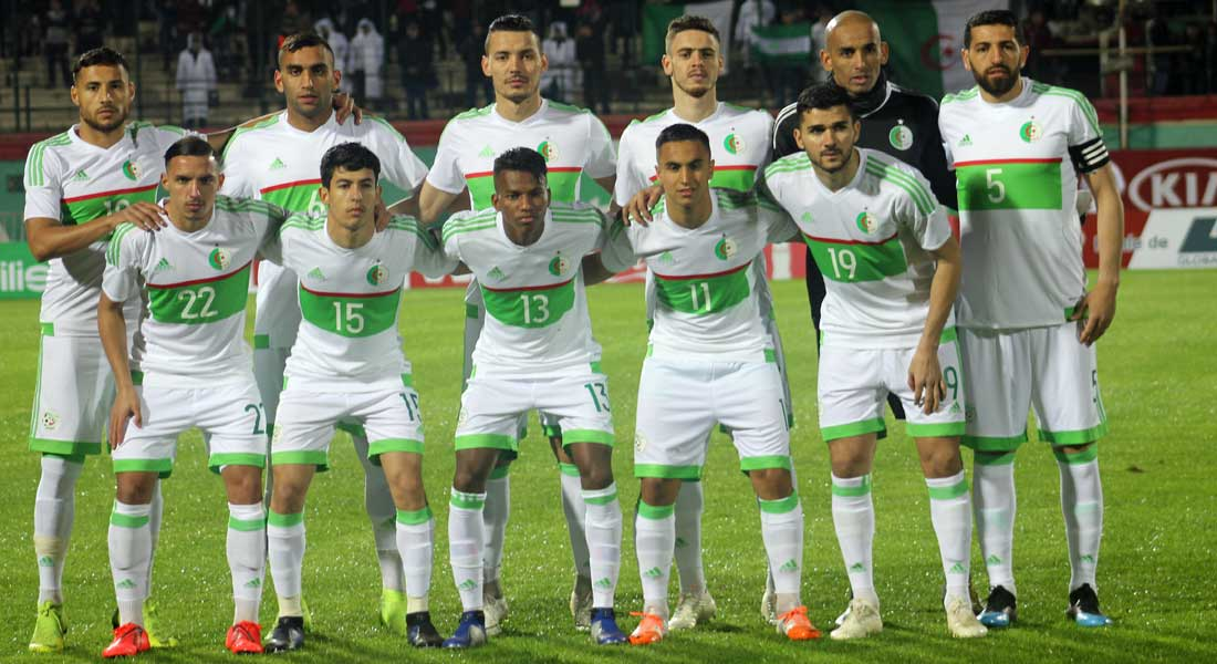 Equipe D Algerie Calendrier.Equipe D Algerie Quel Onze Choisira Belmadi Lors Du Match