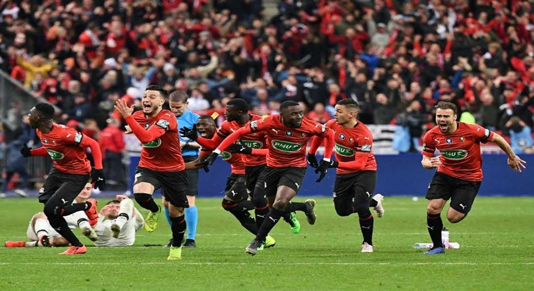 Bensebaïni et Zeffane remportent la coupe de France avec Rennes face au PSG