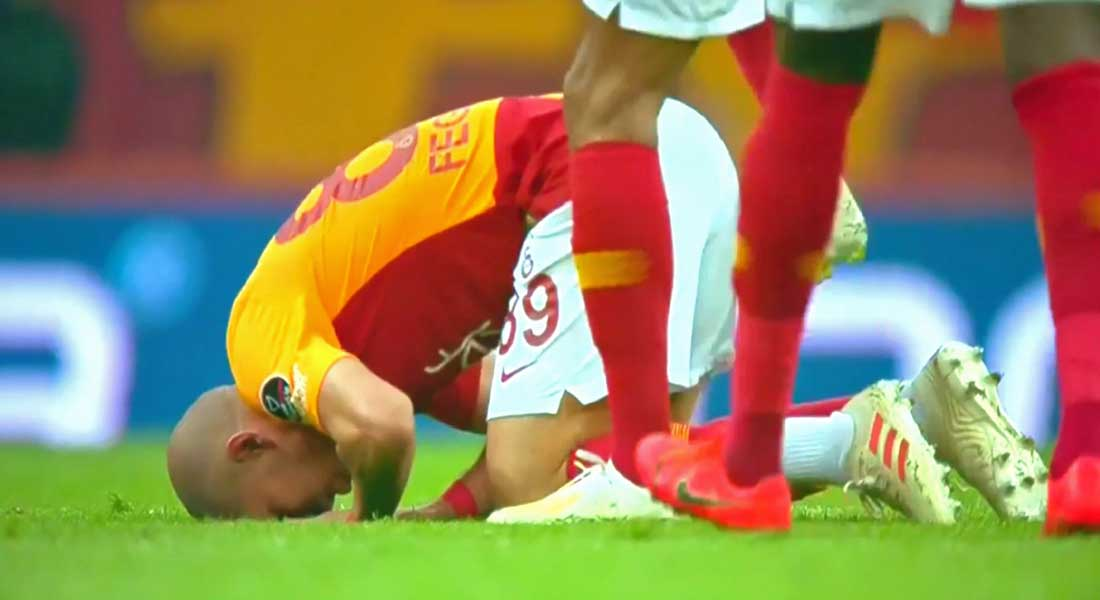 Le but de Sofiane Feghouli contre Istanbul Basaksehir