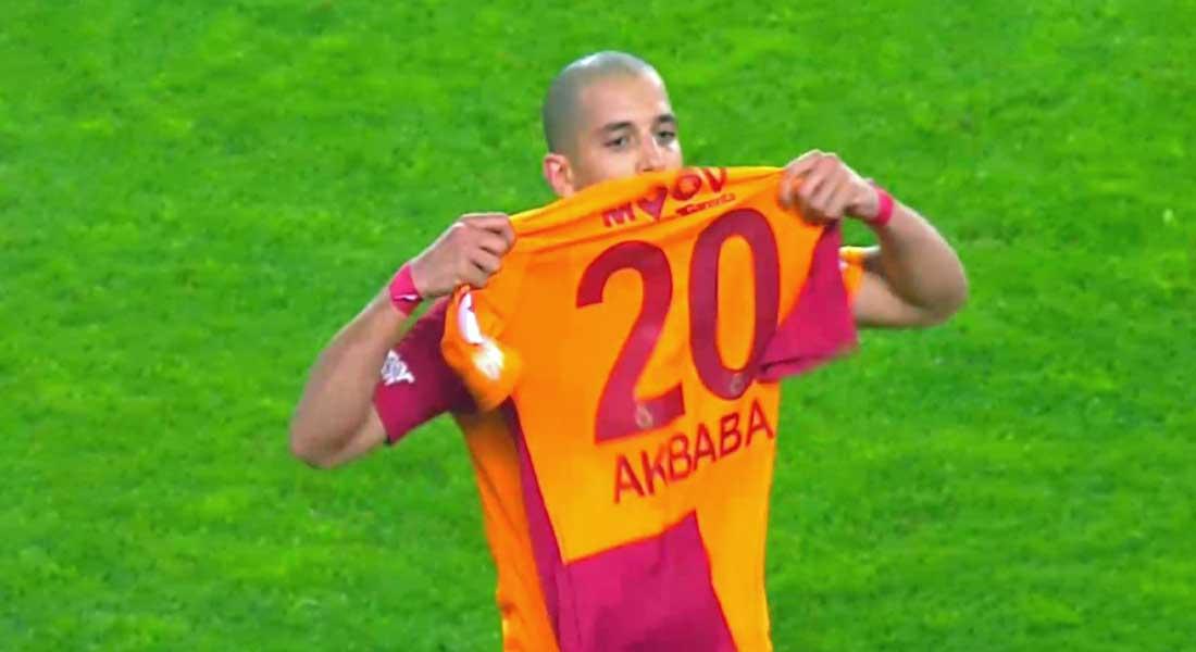 Le but de Sofiane Feghouli face à Akhisarspor (Coupe de Turquie )