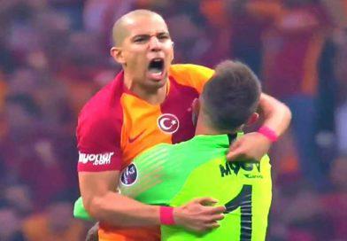 Galatasaray : Le but de Sofiane Feghouli contre Istanbul Basaksehir, vidéo