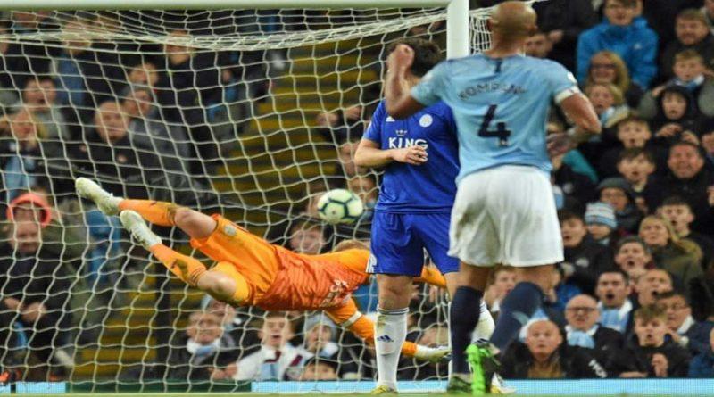 Premier League : Manchester City 1 – Leicester City 0 , merci Kompany, vidéo