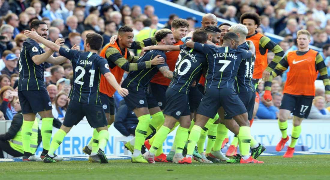 Le sacre de Riyad Mahrez avec Manchester City en Premier League