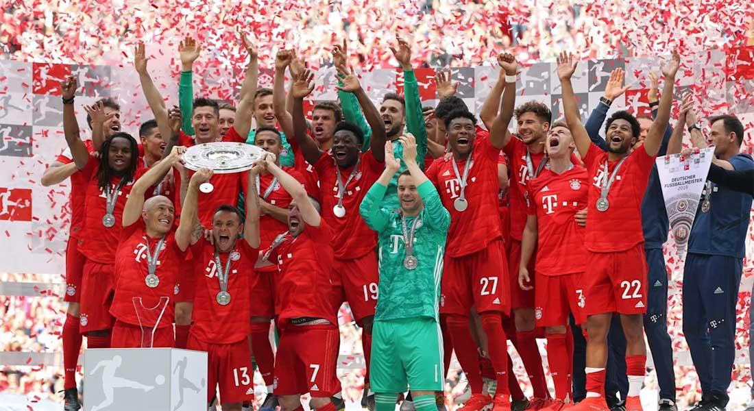 Allemagne : Bayern Munich 5 – Frankfort 2 , Wolfsburg 0- Dortmund 2