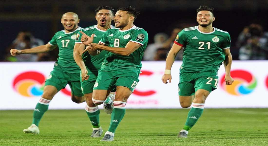 Le clip des buts 12 buts  qui ont envoyé l'Algérie en finale de la CAN 2019