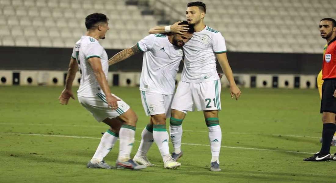 Algérie 3 – Mali 2, les buts de Bounedjah, Belaili et de Andy Delort