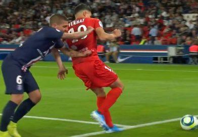 France : PSG 3 – Nîmes 0 , le match de Ferhat , vidéo