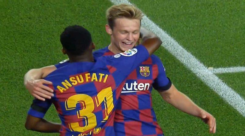 Espagne : le Barça bat Valence 5-2 , Ansu Fati une étoile qui monte, vidéo