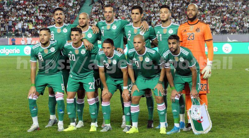 Le calendrier de l'équipe nationale d'Algérie pour la saison 2020-2021