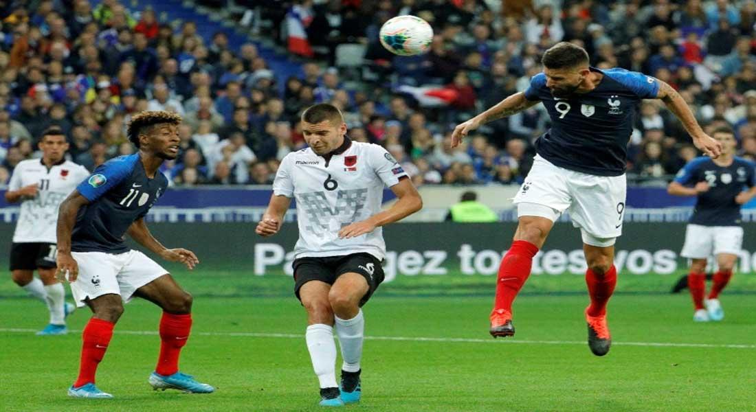 Eliminatoires Euro 2020 : France 4 – Albanie 1