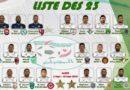 Equipe nationale: Belmadi convoque 23 joueurs pour le stage du 2 au 10 septembre à Sidi Moussa