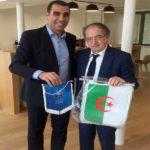 Amical Algérie – France : Tout se décidera au mois de janvier 2020 lors de la visite Le Graët  à Alger