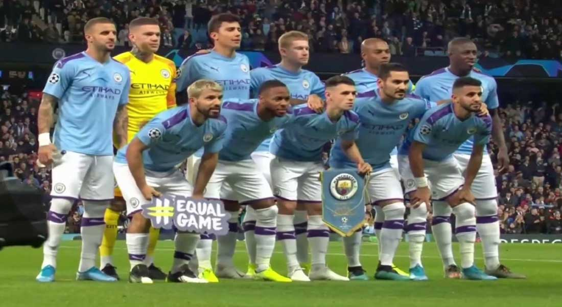 Manchester City 5 – Atalanta de Bergame 1