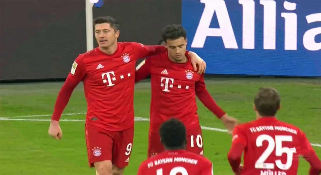 Allemagne: Bayern Munich 3- Paderborn 2