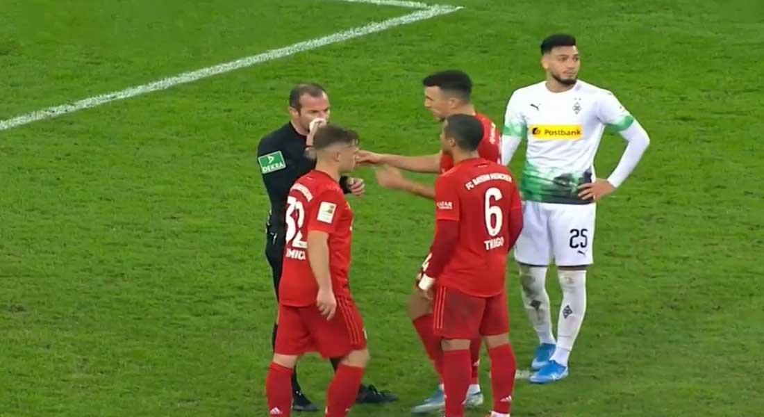 Le doublé de Bensebaïni face au Bayern de Munich