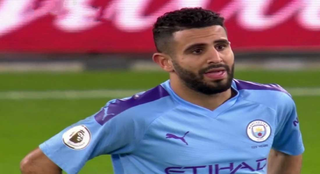 Le but de Mahrez face à NewCastle