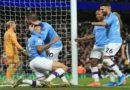 Manchester City  bat Leicester City 3-1, avec un Mahrez buteur et des grands jours, vidéo