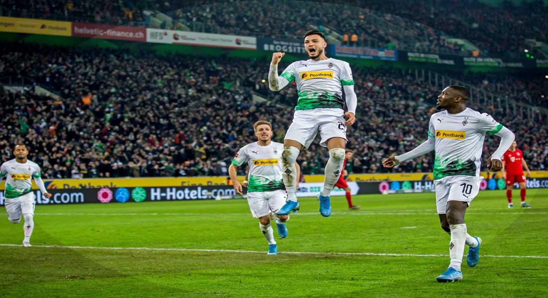 Bundesliga : Borussia Monchengladbach 3 – Bayern Munich 2