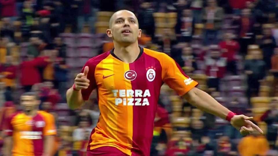 Feghouli double buteur face à Kayserispor