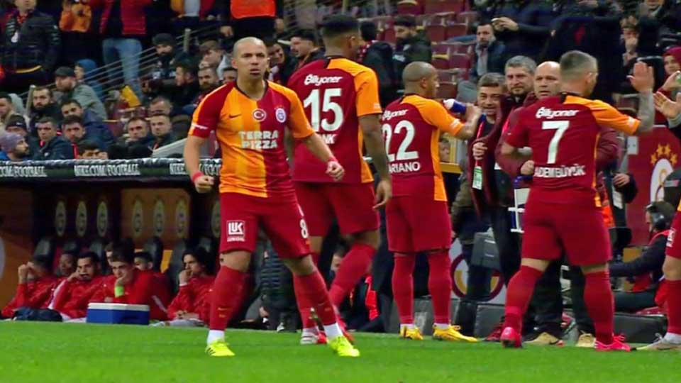 Sofiane Feghouli Buteur face à Sivasspor