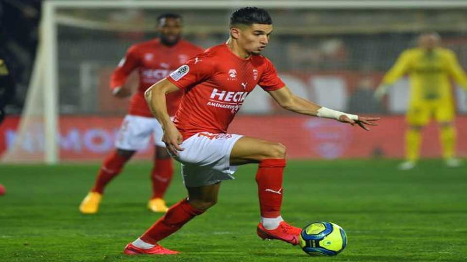 But de Zineddine Ferhat face à Marseille