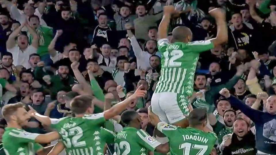 Liga : Betis Seville 2 – Real Madrid 1