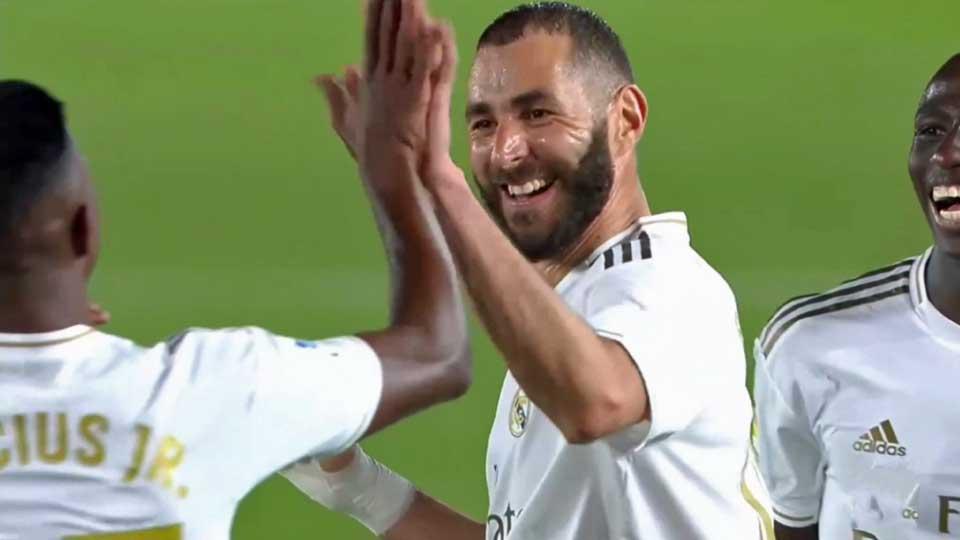 Espagne : Real Madrid 2 – Alavés 0